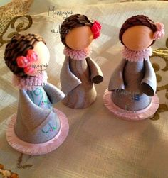 MANNAYAH: I hate to say it but YES .. MORE Dolls :S Quilling Dolls, Paper Quilling, Quilling Ideas, Paper Art, Paper Crafts, Quilling Christmas, Origami, Paper Piecing, Beautiful Dolls
