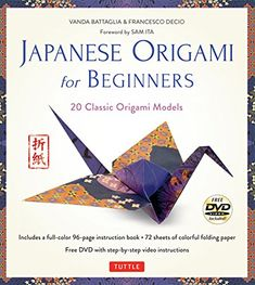 Japanese Origami for Beginners Kit: 20 Classic Origami Models [Origami Kit with Book, DVD, and 72 Folding Papers] >>> Be sure to check out this awesome product.