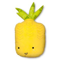 "Pineapple Throw Pillow 20""x12"" - Yellow - Pillowfort™"
