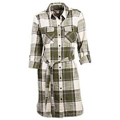 Bob Timberlake Willow Brook Plaid Shirt Dress for Ladies | Bass Pro Shops: The Best Hunting, Fishing, Camping & Outdoor Gear