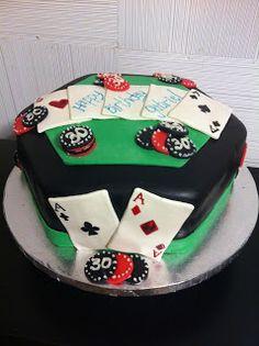 Casino Themed Cake- Poker Table