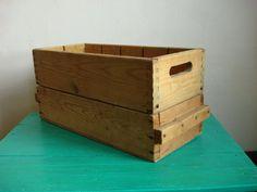 2 antique wooden storage box / brutal solid от OldMoscowVintage