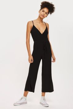 d3cff8f37a0f Slinky Wrap Jumpsuit. New York OutfitsWrap JumpsuitFashion Forward PlaysuitsJumpsuitsSummer OutfitsSummer ClothesRompersCapsule Wardrobe