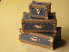 Kit travel dressing case desing. by Mundomini on Etsy