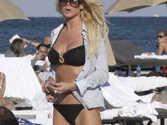 PHOTOS Victoria Silvstedt en bikini à Miami - Voici