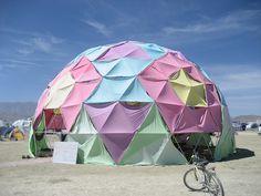Pastel Geo-Dome by tnporter, via Flickr