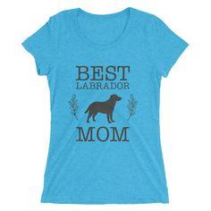 Women's Best Labrador Mom tshirt Dog Lover Gift