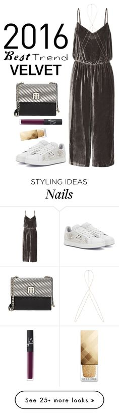"""""""velvet"""" by moria801 on Polyvore featuring Dolce&Gabbana, Madewell, Catbird, Tommy Hilfiger, NARS Cosmetics and Burberry"""