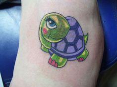 mertle-turtle-tattoo ~ http://heledis.com/applying-quality-turtle-tattoo-designs/