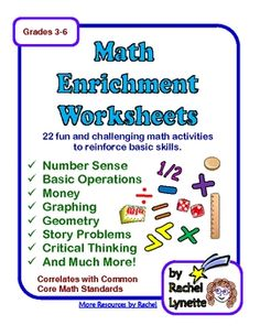 Printables Math Enrichment Worksheets collection of math enrichment worksheets bloggakuten bloggakuten