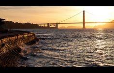 Golden Gate Bridge at Sunset by B4YK1D5 via Flickr
