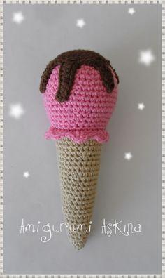 Amigurumi Dondurma Yapılışı-Amigurumi Free Pattern