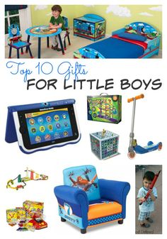 Top 10 Gifts For Little Boys