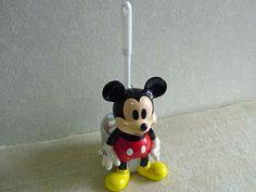 zakkaya free   Rakuten Global Market: Mickey Mouse toilet brush toilet gadgets Disney