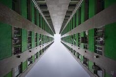 Dizzying Vertical Density in Hong Kong, Vertical Horizons by Romain Jacquet-Lagrèze
