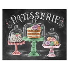 French Bakery - Print & Canvas