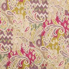 Passion Splash Of Color Home Decor Fabric