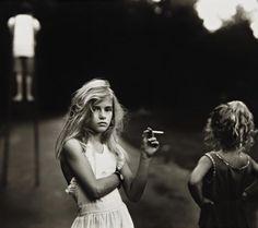 Sally Mann- Candy Cigarette- 1989