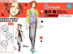 Tsukiuta-Character-Design-You-Hazuki
