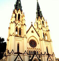 Savannah, Georgia church