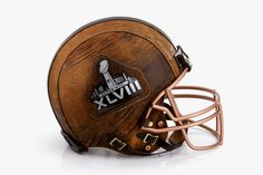 Menswear Designers Reimagine the Football Helmet for Super Bowl XLVIII