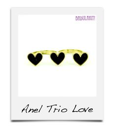 Anel Trio Love R$39.90