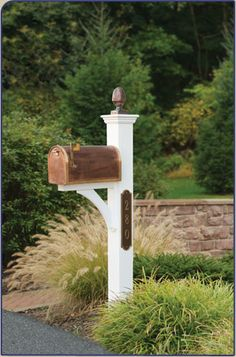 Mailbox Posts & Mailboxes | Capital Outdoor Accents Like this, but no newspaper box