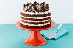 Cakes - Triple-Chocolate Layer Cake Recipe - Kraft Recipes