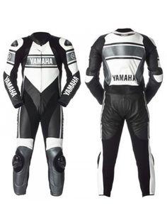 Motorcycle Yamaha Motogp Race Leather Suit For Unisex