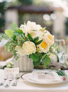 Brides: 6 Lush Peony Wedding Centerpieces: In Season Now
