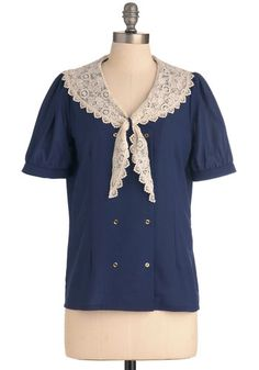THE most adorable vintage top to go sailing in.  #perfectsummer