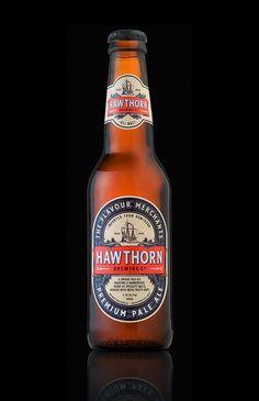 Hawthorn Premium Pale Ale Bottle