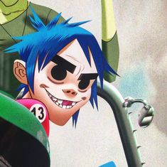 Here is a place where I will post all of the official Gorillaz art. I claim none of this art and it is all created by Jamie Hewlett. I will NOT be posting any fan art (including edits). Jamie Hewlett Art, Gorillaz Fan Art, Monkeys Band, Damon Albarn, Humor Grafico, Imagine Dragons, Cartoon Shows, Beautiful Voice, Ship Art