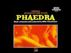 the film PHAEDRA (1962) - Mikis Theodorakis [original soundtrack] starring Melina merkouri-Anthony Perkins
