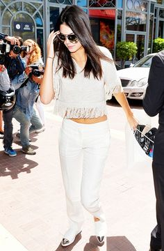 Kendall Jenner's Guide to Wearing All White