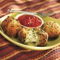 Spinach cheese balls Recipe-anything with spinich in it ♥