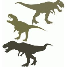 Silhouette Design Store - View Design t-rex dinosaur set Dinosaur Silhouette, Animal Silhouette, Silhouette Design, Silhouette Files, Plotter Silhouette Cameo, Silhouette Cameo Projects, Vinyl Crafts, Vinyl Projects, Diy Birthday Shirt