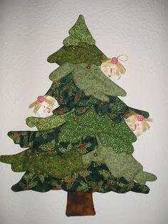 Jardín de Patchwork de Manoli: Árbol de Navidad                                                                                                                                                                                 Más