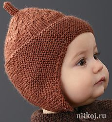 Baby Hat Knitting Patterns Free, Baby Hats Knitting, Knitting For Kids, Knitting Designs, Knitted Hats, Knit Baby Dress, Knit Baby Booties, Crochet Baby, Knit Crochet