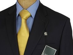 Ralph Lauren Mens 2 Button Navy Blue Wool Blazer Sport Coat Jacket