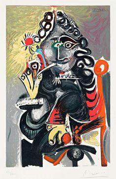 Pablo Picasso Le Cavalier 1968