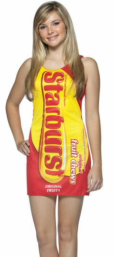 Candy Costumes For Girls | Starburst Candy Costume Dress for Teens