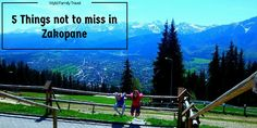 Zakopane Poland is high in Tatra mountains. Zakopane is a playground in winter and summer.Snow covered, peaks, bars and restaurants something for everyone