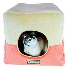 Armarkat Cave Shape Pet Cat Beds for Cats and Small Dogs-Waterproof and Skid-Free Base  ♥ Available at BuyDogSweaters.com