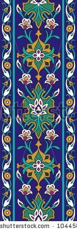 Find Vector Illustration Arabic Ornamental Background stock images in HD and millions of other royalty-free stock photos, illustrations and vectors in the Shutterstock collection. Arabic Decor, Arabic Art, Turkish Tiles, Turkish Art, Stencil Patterns, Tile Patterns, Persian Pattern, Border Pattern, Paisley Pattern