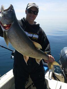 Man-sized catch.