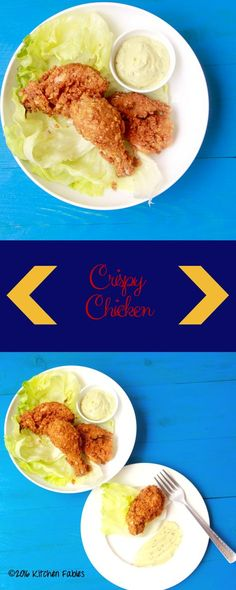 Recipe for Home made KFC Style Crispy Chicken. Crispy outer and juicy chicken inside is a treat for kids.