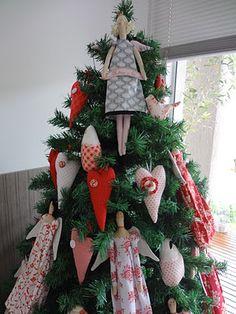 Tilda dolls Christmas Tree
