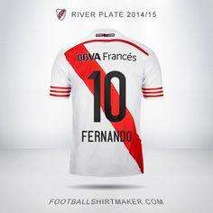 Camiseta River Plate 2014/2015 Fernando 10
