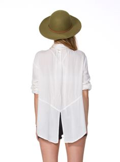 white,always white..I'd take a white shirt over a n y t h i n g~